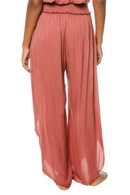 Sheer Side Slit Pants