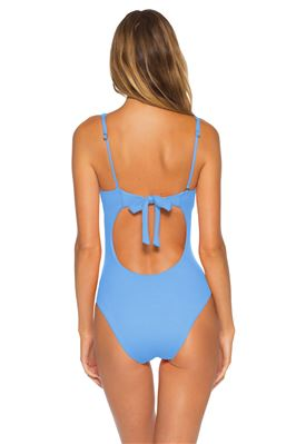 Adeline One Shoulder One Piece Swimsuit