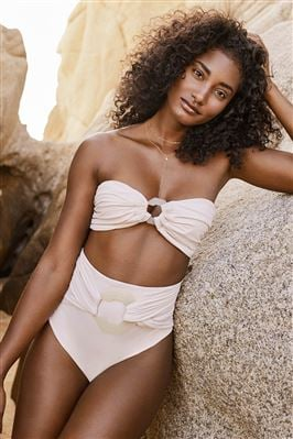 Mangrove Belted High Waist Bikini Bottom