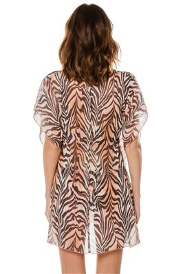 Tiger Sheer Tunic