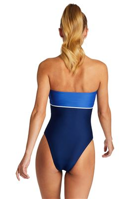 Marilyn Bandeau One Piece Swimsuit
