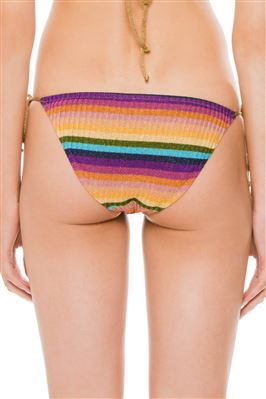 Goa Maglia Metallic Tie Side Hipster Bikini Bottom