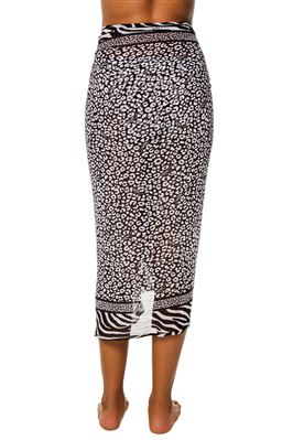 Animal Print Pareo