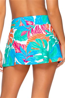 Summer Lovin' V-Front Skirted Bikini Bottom
