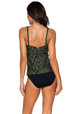 Taylor Molded Underwire Tankini Top (D+ Cup)