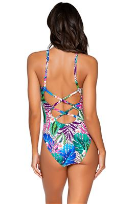 Veronica X-Back One Piece Swimsuit