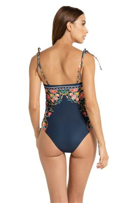 Sandy Bandeau One Piece Swimsuit