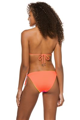 Neon Reversible Sliding Triangle Bikini Top