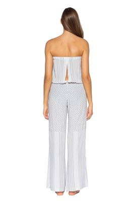Strapless Pull-On Jumpsuit