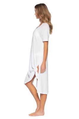 Burnout Midi T-Shirt Dress