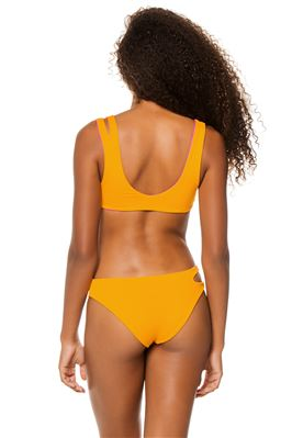 One Wave Reversible Cut Out Bikini Top