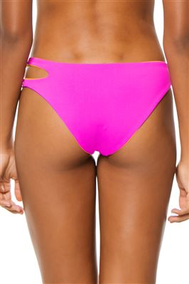 Breaker Reversible Cut Out  Bikini Bottom