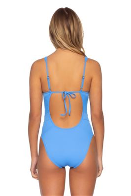 Plunge High-Leg One Piece Swimsuit