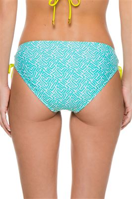 Tunnel Loop Tie Side Hipster Bikini Bottom
