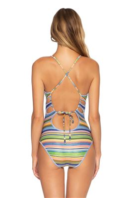 Elizabeth Plunge One Piece Swimsuit