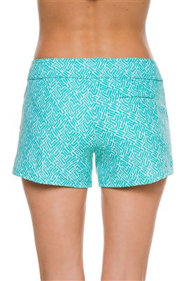 Lace Up Board Shorts