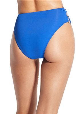 Ring Side High Waist Bikini Bottom