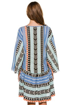 Zakar Ioanna Long Sleeve Dress