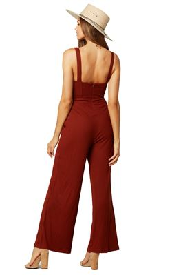Selena Ribbed Jumpsuit