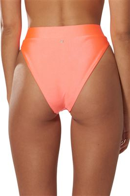 High Waist Buckle Bikini Bottom
