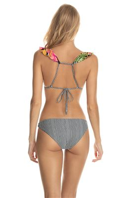Ferris Wheel Pirouette Triangle Bikini Top
