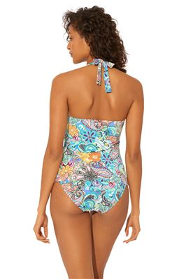 Molded Halter Tankini Top