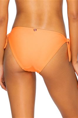 Poppy Tie Side Hipster Bikini Bottom