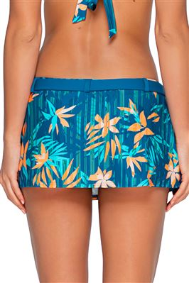 Zuma Belted Skirted Hipster Bikini Bottom