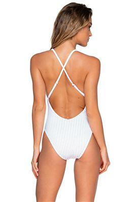 Miramar Scoop Neck X-Back One Piece Swimsuit