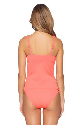 Camila Over The Shoulder Tankini Top