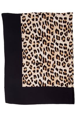 Scarlet Leopard Print Pareo