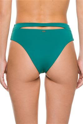 Cutout High Waist Bikini Bottom