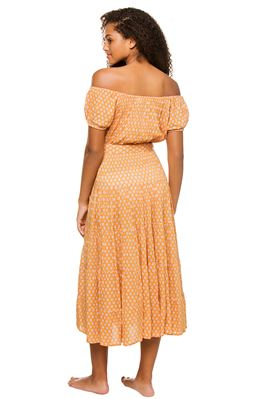 Sienna Off The Shoulder Midi Dress