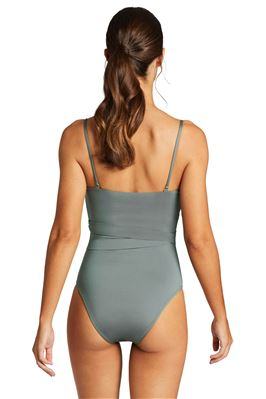 Marylyn Bandeau One Piece Swimsuit