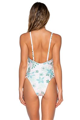 Koa Over The Shoulder Cutout One Piece Swimsuit