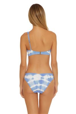 Lani Tie-Dye One Shoulder Bikini Top