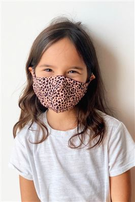 Animal Print Anti-Fluid Kids Face Mask