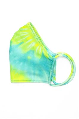 Lagoon Tie Dye Adult Face Mask