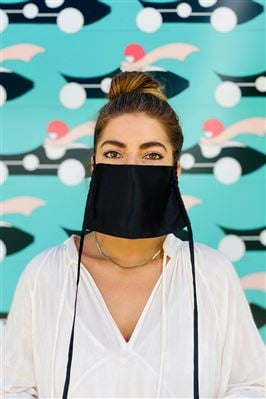 Natural Sustainable Adjustable Face Mask