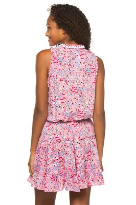 Clara Ruffled Floral Dress