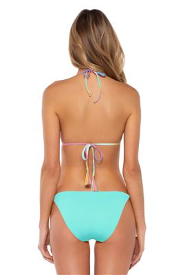 Cheryl Tie-Dye Reversible Sliding Triangle Bikini Top