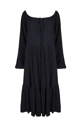Pandora Long Sleeve Midi Dress
